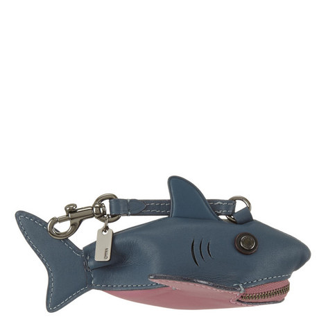 Shark Leather Coin Case, ${color}