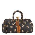 Kisslock Duck Print 38 Satchel Bag, ${color}