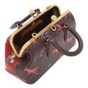 1941 Kisslock Colour-Block Satchel Bag, ${color}
