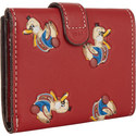 1941 Duck Print Trifold Purse, ${color}