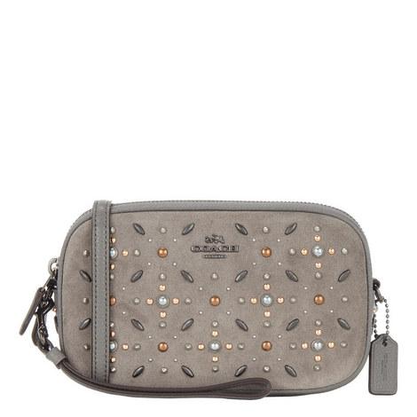 Embellished Crossbody Clutch Bag, ${color}