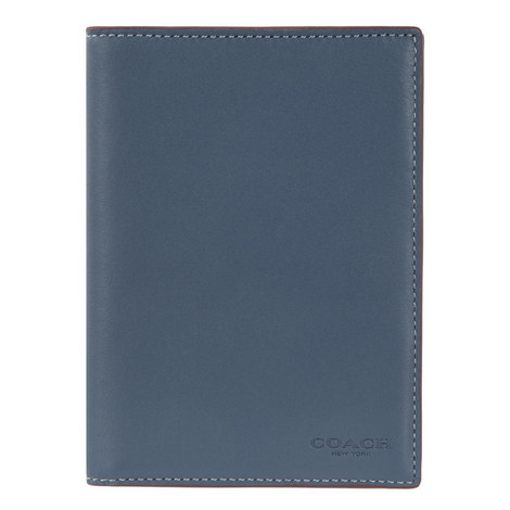 Leather Passport Cover, ${color}