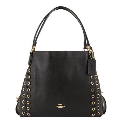 Edie 31 Link Shoulder Bag, ${color}