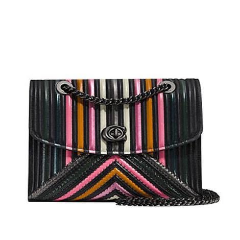 Parker Block Quilted Shoulder Bag, ${color}