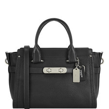 Swagger Pebbled Leather Bag