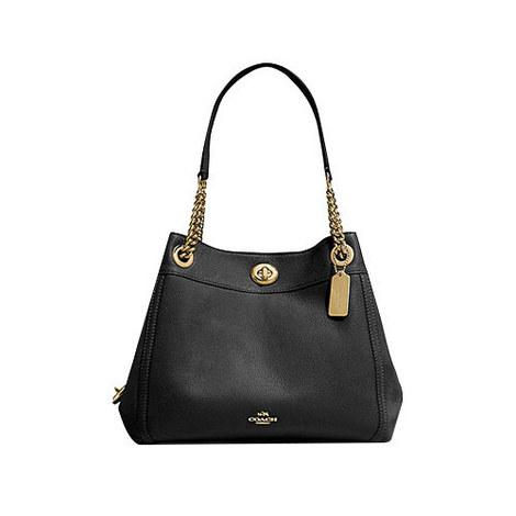 Edie Turnlock Shoulder Bag, ${color}