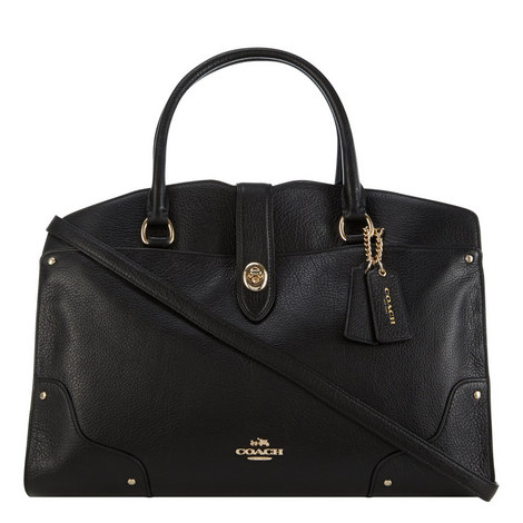 Mercer Leather Satchel, ${color}
