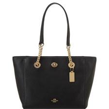 Turnlock 27 Chain Tote Bag