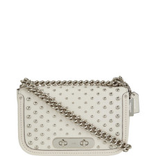 Swagger Rivet Shoulder Bag