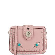 Rivets Page Crossbody Bag