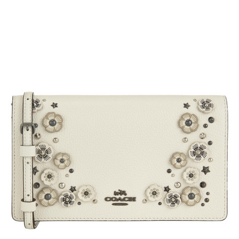 Foldover Floral Crossbody Bag, ${color}