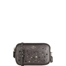 Studded Crossbody Clutch Bag
