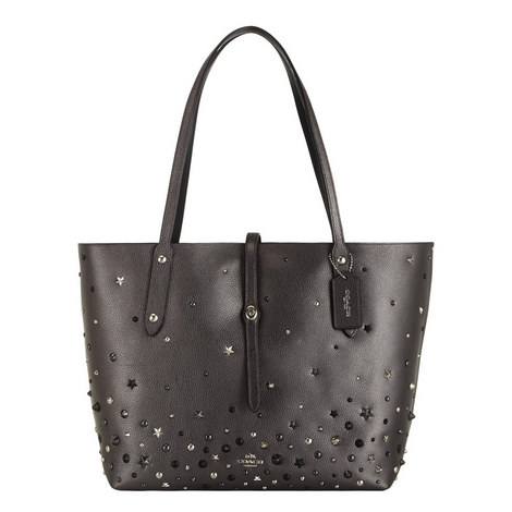 Market Pebbled Leather Tote, ${color}