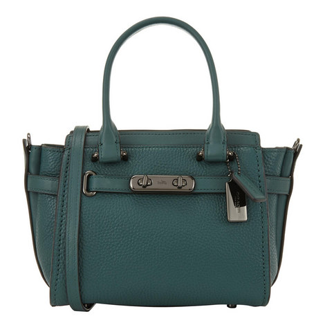 Swagger 21 Pebbled Leather Bag, ${color}