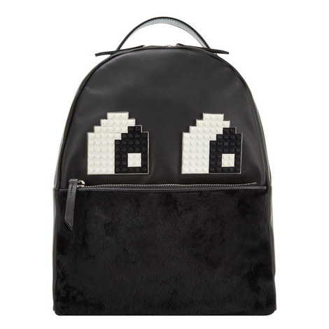 Mick Lego Appliqué Backpack, ${color}