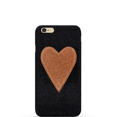 Heart Patch iPhone 6 Case, ${color}