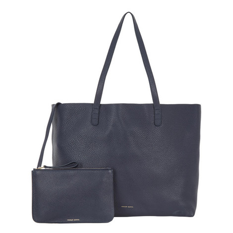 Leather Tote Bag Large, ${color}
