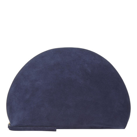 Moon Suede Clutch Mini, ${color}