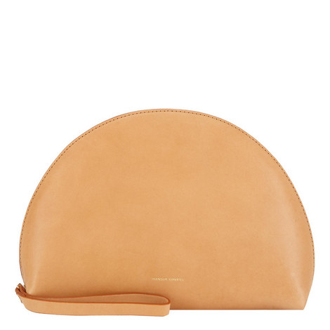 Moon Leather Clutch Mini, ${color}