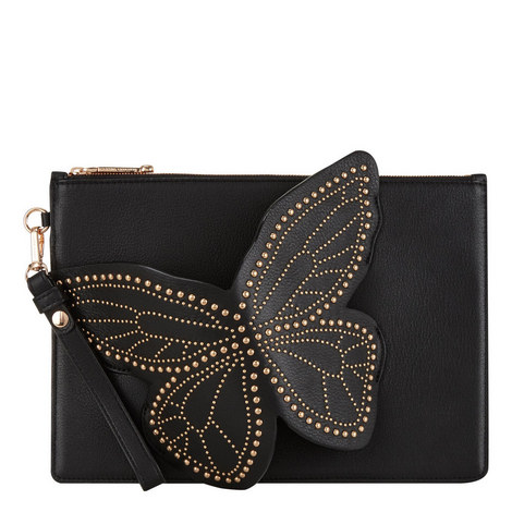 Flossie Studded Butterfly Pochette, ${color}