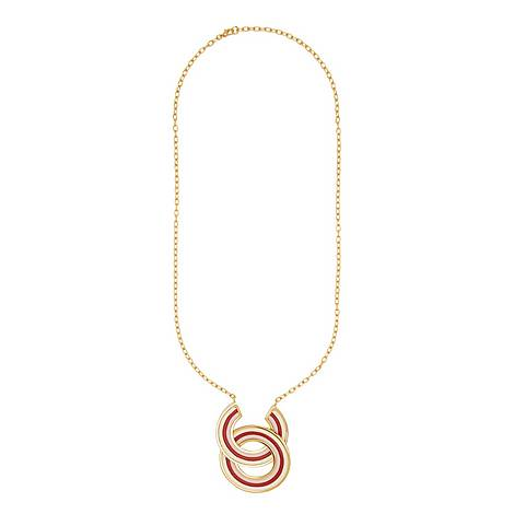 Multi Stripe Necklace, ${color}