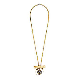 Strass Bow Necklace