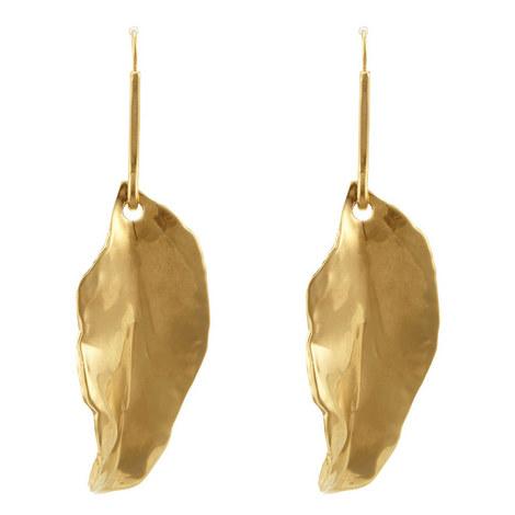 Bay Leaf Earrings, ${color}