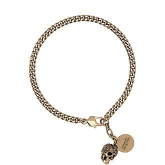 Pave Skull Bracelet