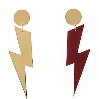 Mismatched Lightening Bolt Earrings