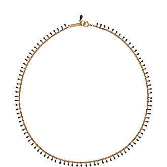 Plum Pendants Necklace