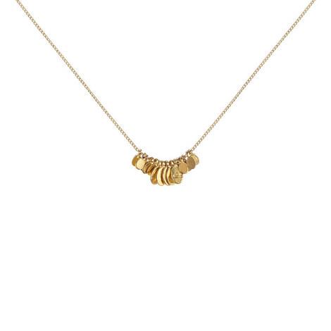 Leaves Pendant Necklace, ${color}
