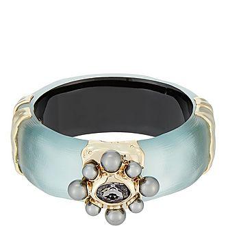 Pearl Floret Hinge Bracelet