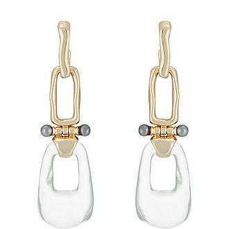 Link Hinged Drop Earring