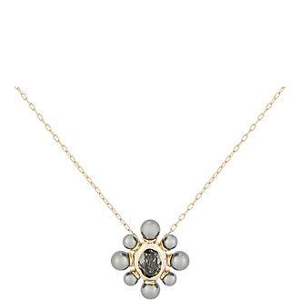 Pearl Floret Pendant Necklace