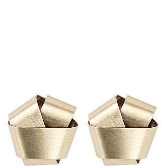 Folded Knot Earrings