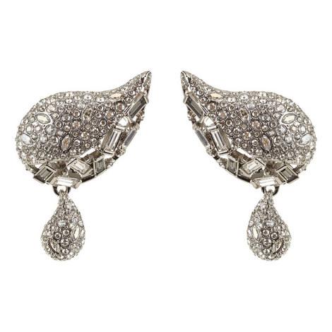 Crystal Paisley Earrings, ${color}