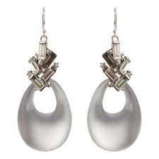Baguette Cluster Earrings