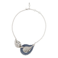 Frosted Crystal Necklace