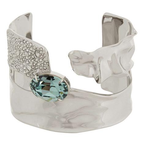 Crystal Crumple Bangle, ${color}
