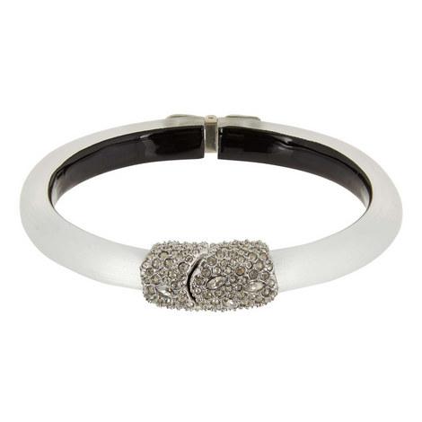 Crystal Encrusted Clasp Hinge Bracelet, ${color}