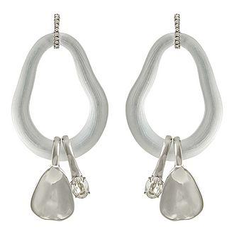 Crystal Link Earrings