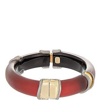 Two Tone Hinge Bracelet