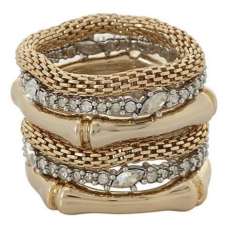 Stacked Bamboo Rings, ${color}