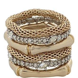 Stacked Bamboo Rings
