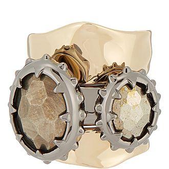 Georgian Double Stone Ring