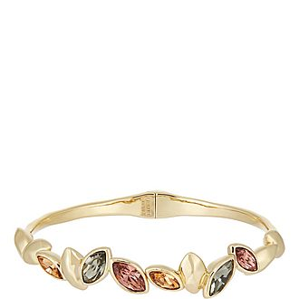 Navette Crystal Hinge Bracelet