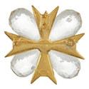 Crystal Cross Pin, ${color}
