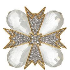 Crystal Cross Pin