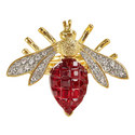 Ruby Bee Ring, ${color}