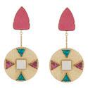 Mop Drop Earrings, ${color}